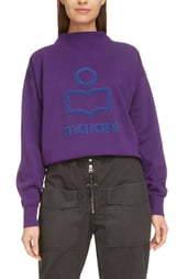 Etoile Isabel Marant Moby Logo Sweatshirt