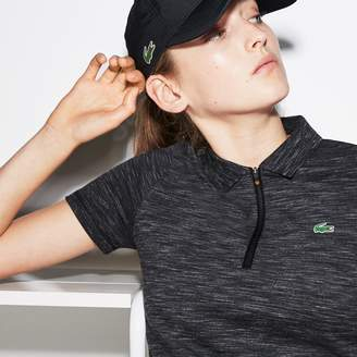 Lacoste Women's SPORT Ultra-Light Stretch Cotton Golf Polo