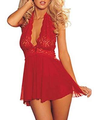 e489fa67ed Sexy Life Sexy Plus Size Lingerie Lace Babydoll Sexy Lingerie for Women  (5XL