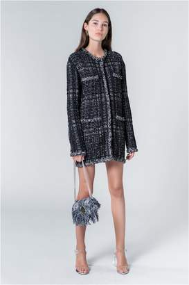 Sonia Rykiel Summer Tweed Short Coat