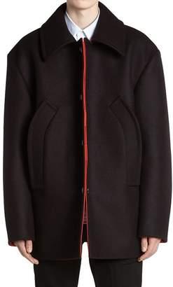 Raf Simons Wool Cloth Peacoat
