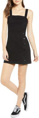 Ten Sixty Sherman Side Button Minidress