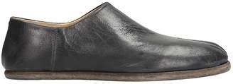 Maison Margiela Black Leather Tabi Babouche Mules