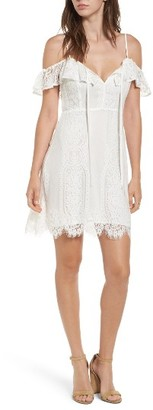 Women's Lush Lace Cold Shoulder Dress $55 thestylecure.com