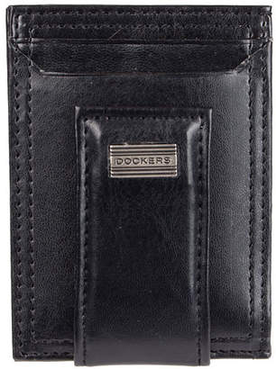 Dockers RFID Secure Front Pocket Wallet with Magnetic Money Clip