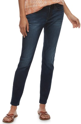 Sonoma Goods For Life Petite SONOMA Goods for Life Curvy Mid-Rise Skinny Jeans
