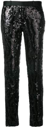 Each X Other sequin tuxedo trousers