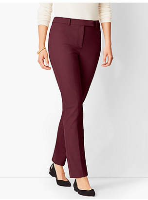 Talbots Bi-Stretch High-Waist Straight-Leg Pant