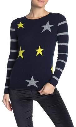 Kier & J Stars & Stripes Cashmere Sweater