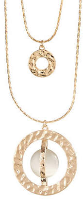 Cat Eye ETEREO Multi-Layer O and Necklace