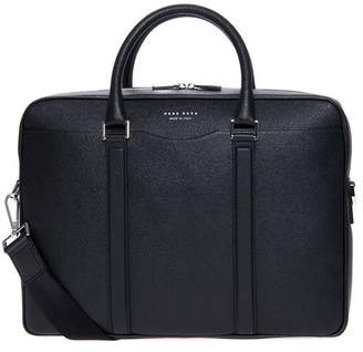 at Italist · HUGO BOSS Signatur Leather Shoulder Bag 5b774666d5211