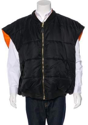 Alpha Industries Vetements x 2017 Reversible Oversize Vest