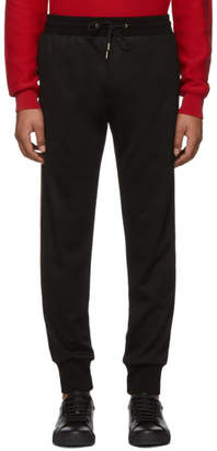 Paul Smith Black Wool Lounge Pants