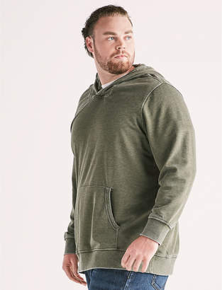 Lucky Brand Big and Tall Burnout Hoodie