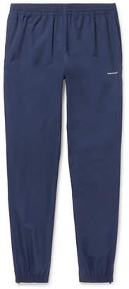 Balenciaga Tapered Logo-Print Shell Drawstring Trousers