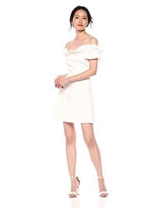 Rebecca Taylor Women's Off Shoulder Slub Suit