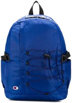 Champion drawstring detail backpack