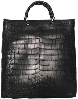 Brown Crocodile Bag