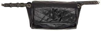 Saint Laurent Black Niki Body Bag