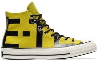 Converse yellow Chuck Taylor Goretex sneakers