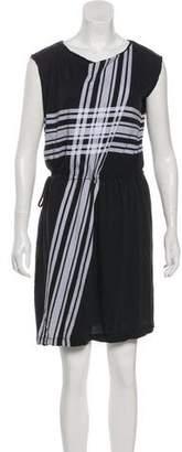 Dries Van Noten Sleeveless Plaid Dress