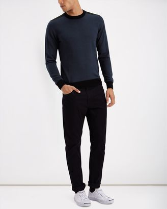 Merino Colour Block Sweater