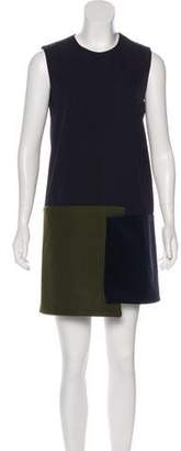 Jacquemus Wool Sleeveless Mini Dress