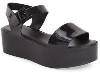 Women's Melissa 'Mar' Platform Sandal $124.95 thestylecure.com