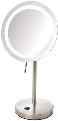 Sharper Image 8X LED Tabletop Makeup Mirror