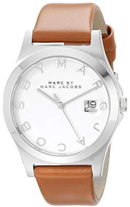 Marc by Marc Jacobs Women's MBM1356 Analog Display Analog Quartz Brown Watch
