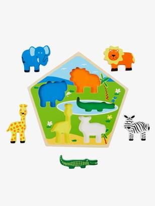 Vertbaudet Wooden Jungle Puzzle Game