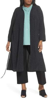 Eileen Fisher Belted Long Kimono Jacket