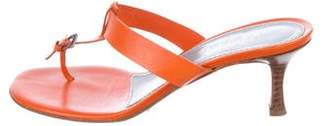 Lambertson Truex Leather Thong Sandals