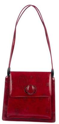 Cartier Patent Leather Happy Birthday Bag