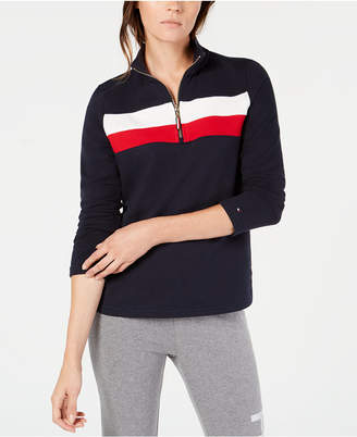 Tommy Hilfiger Colorblocked Pullover, Created for Macy's