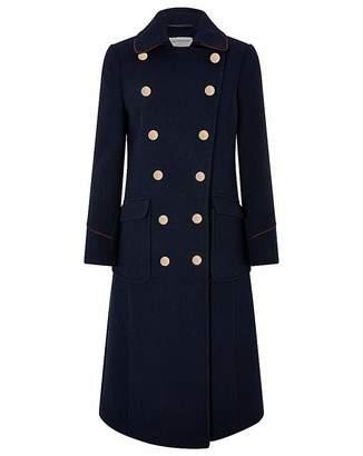 Moda In Pelle Monsoon Anna Maxi Military Coat