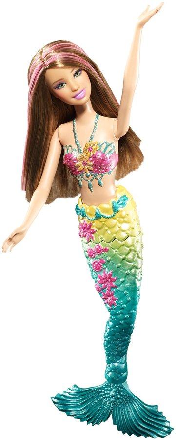 Barbie Green Color Change Mermaid Doll