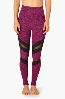 Beyond Yoga Mesh Slant Legging