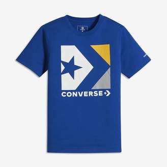 Converse Star Chevron Box Big Kids (Boys') Graphic T-Shirt