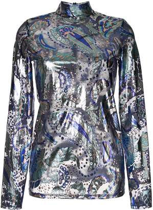 Alice McCall Florette metallic top