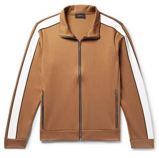 Joseph Striped Scuba-Jersey Track Jacket - Men - Camel