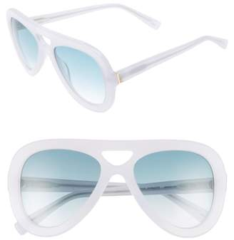 Derek Lam 54mm Aviator Sunglasses