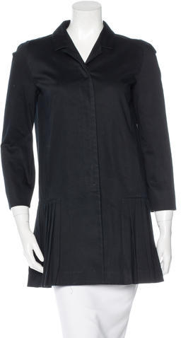 Miu Miu Miu Miu Pleated Trench Coat