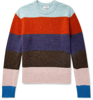 Acne Studios Kai B Striped Wool Sweater
