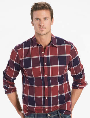 Lucky Brand Saturday Stretch Poplin One Pocket Shirt