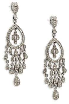 Adriana Orsini Crystal Teardrop Chandelier Earrings
