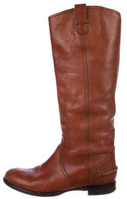 Madewell Leather Riding Boots