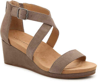 Lucky Brand Kenadee Wedge Sandal - Women's
