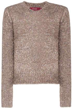 Sies Marjan tinsel knitted jumper