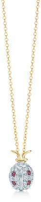 Tiffany & Co. Schlumberger ladybug pendant with diamonds and garnets